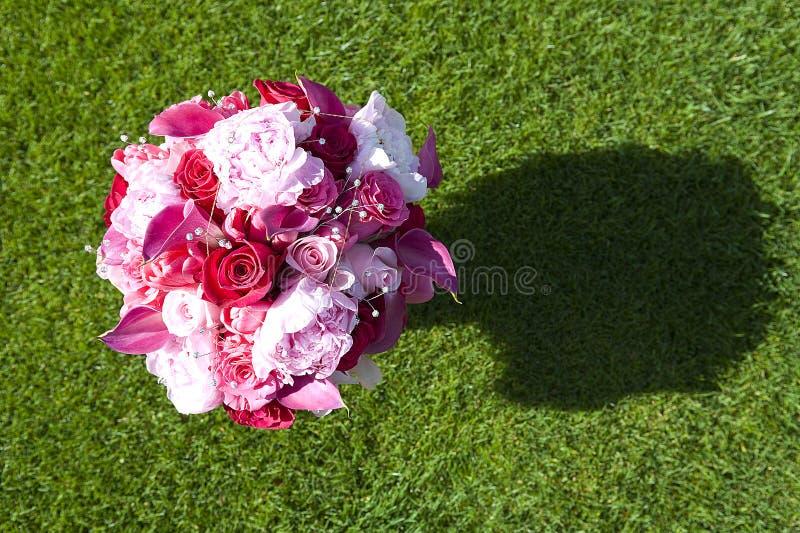 3花束婚礼 库存图片