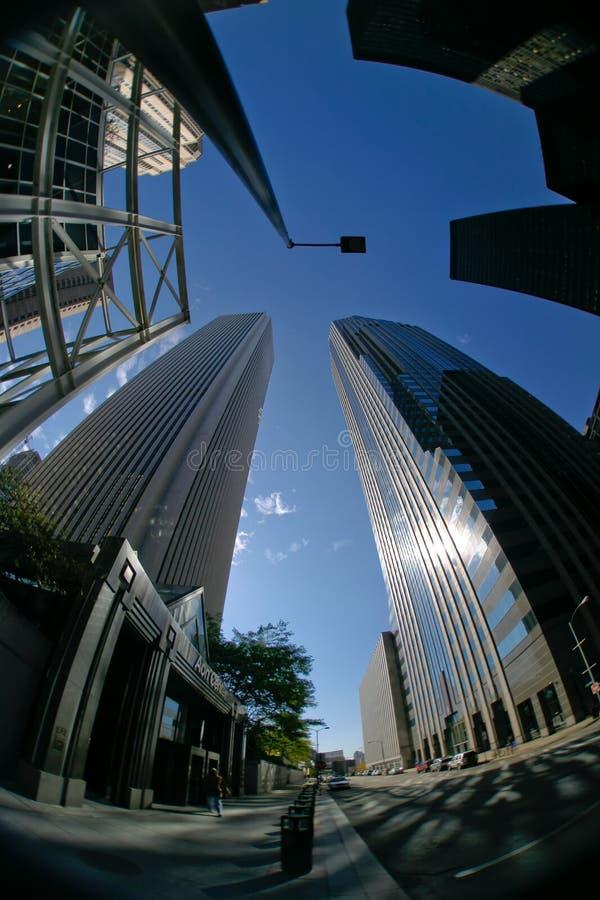 3街市摩天大楼 免版税库存图片