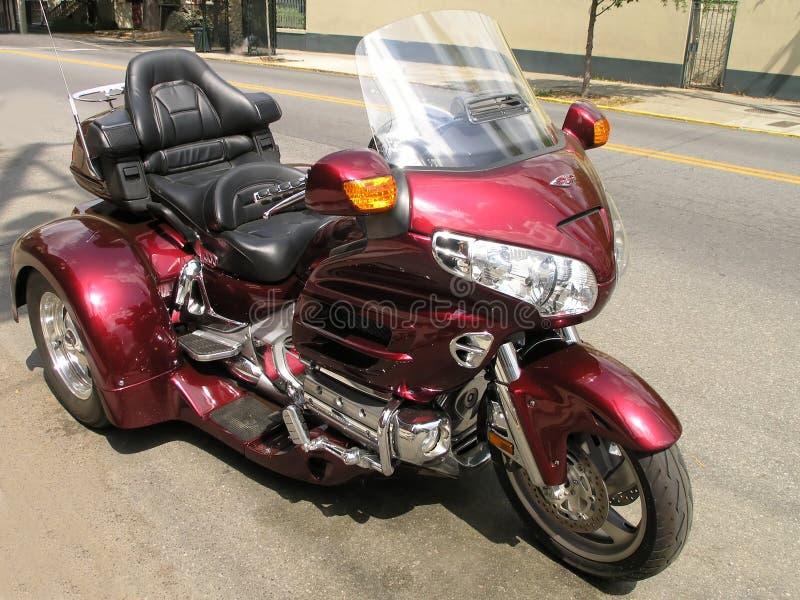 3辆摩托车轮子 库存图片