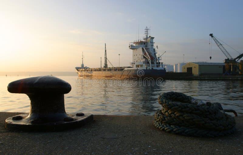 3黎明码头 免版税图库摄影