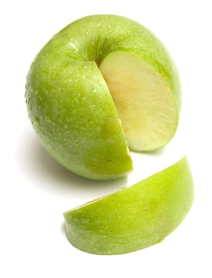 3 äpple - green royaltyfri foto