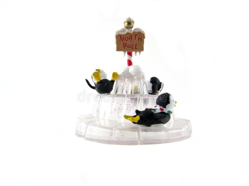 3 świątecznej pingwina ornamentu fotografia royalty free