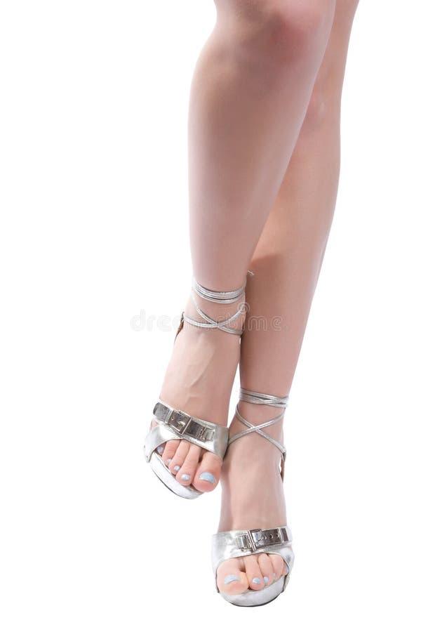 3 θηλυκά πόδια Στοκ Φωτογραφία