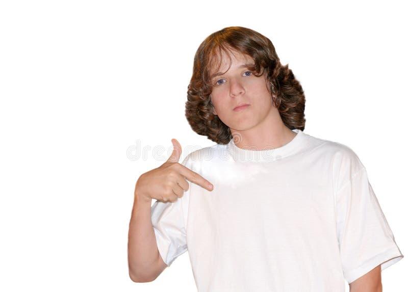3 κενό λευκό πουκάμισων τ στοκ φωτογραφία
