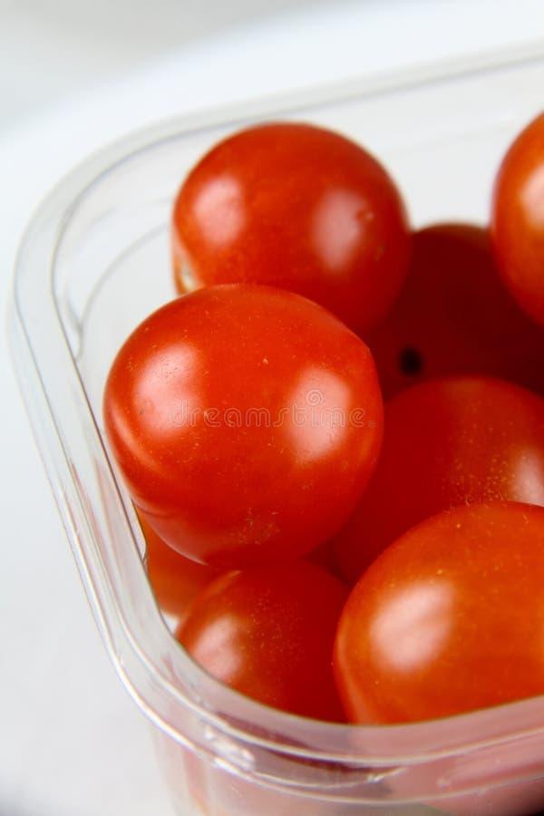 3 ντομάτες κερασιών στοκ εικόνες με δικαίωμα ελεύθερης χρήσης