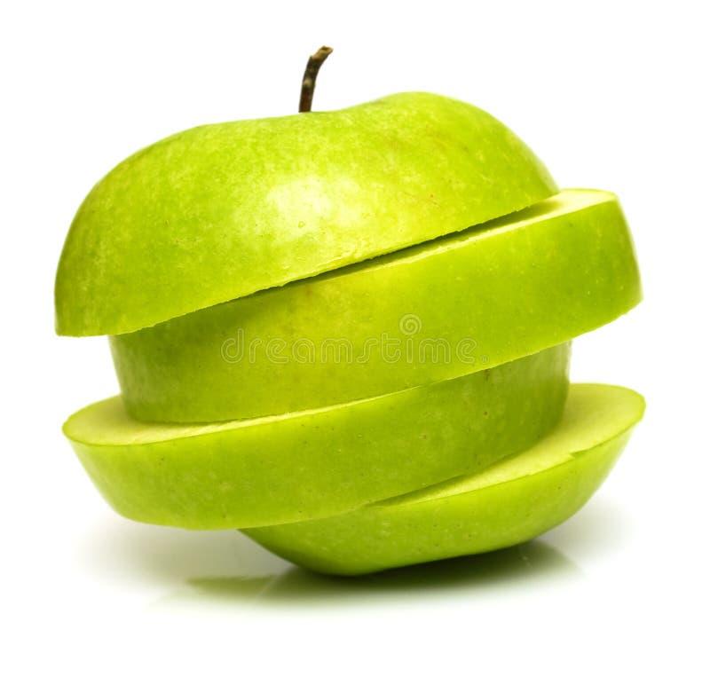 3 πράσινο μήλου στοκ εικόνες με δικαίωμα ελεύθερης χρήσης