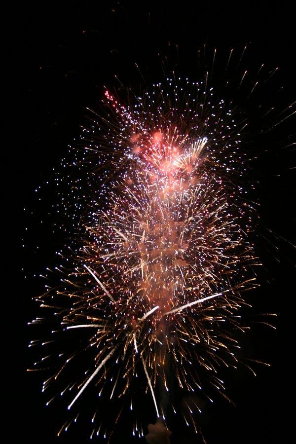 3 πυροτεχνήματα στοκ φωτογραφίες