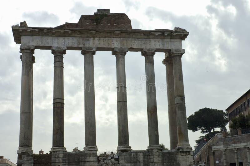 3 φόρουμ Ρωμαίος στοκ εικόνα