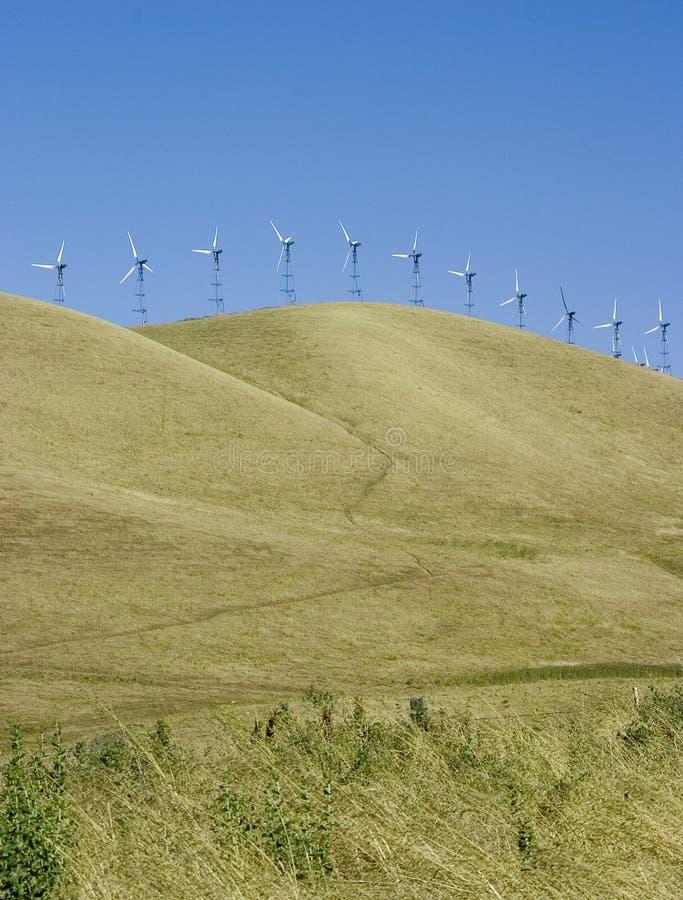 3 ветрянки стоковое изображение