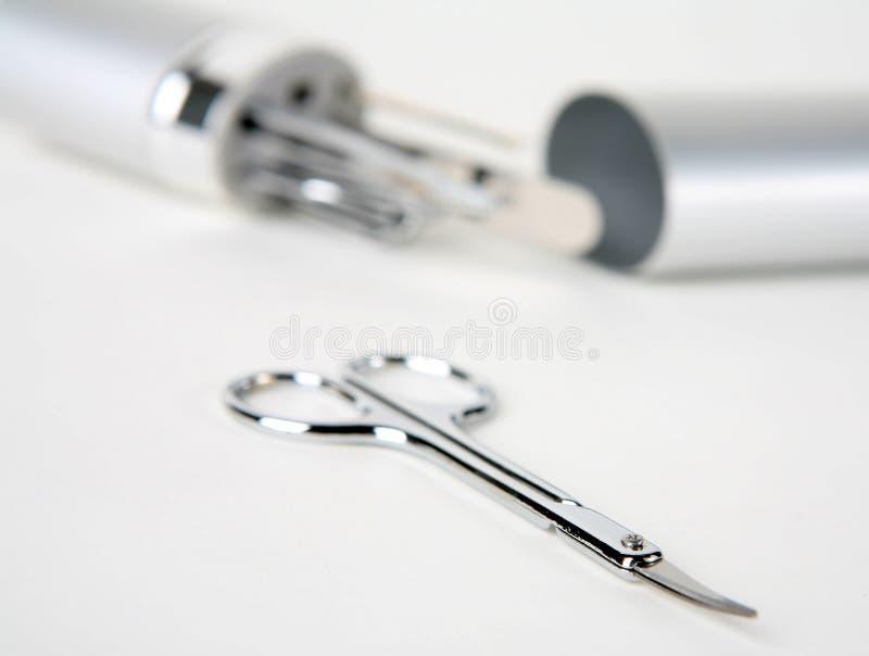 3 инструмента ногтя резца стоковое фото rf