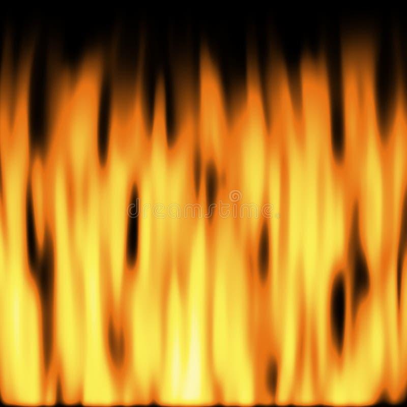 3 пламени стоковая фотография