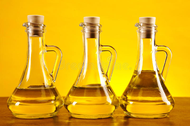 3 прованских бутылки стоковое изображение rf