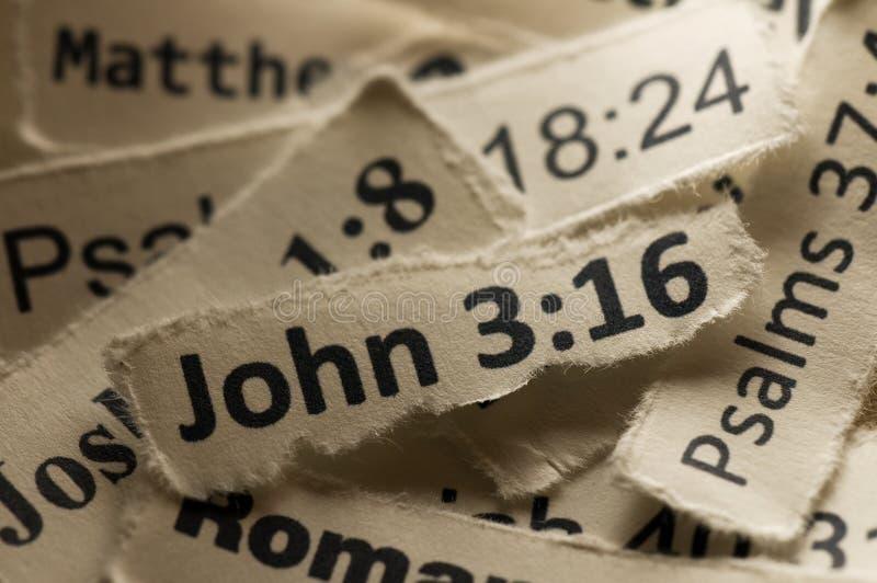 3:16 del John fotografie stock