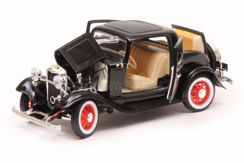 3 1932 coupe brodu okno fotografia royalty free