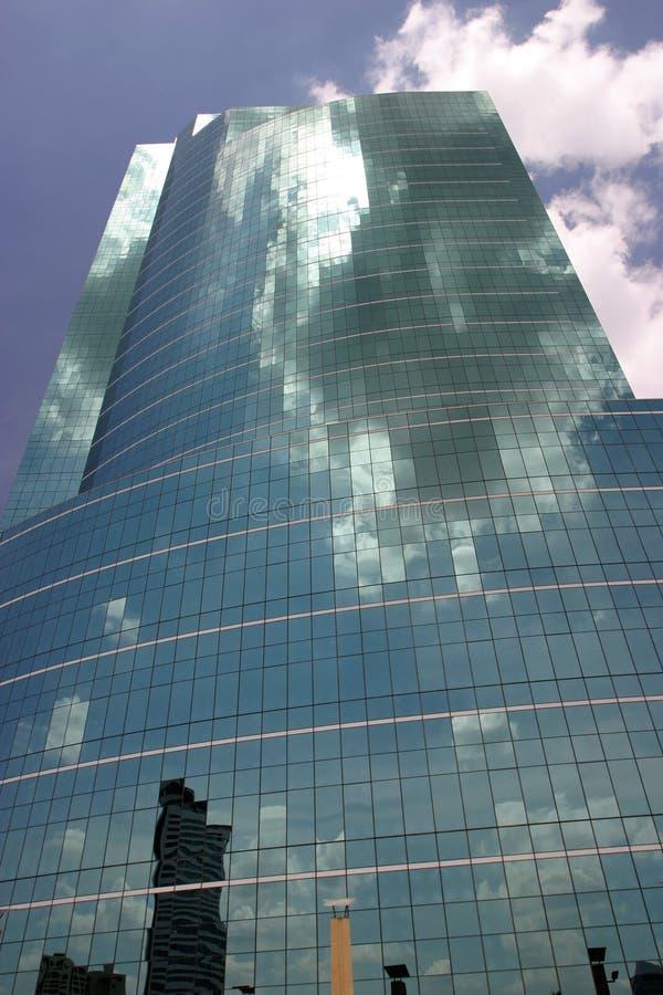3块玻璃天空 库存照片