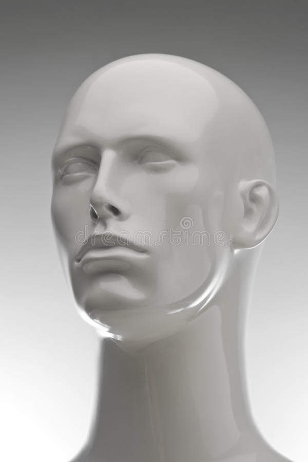 3/4 Mannequin on Gradient royalty free stock photos
