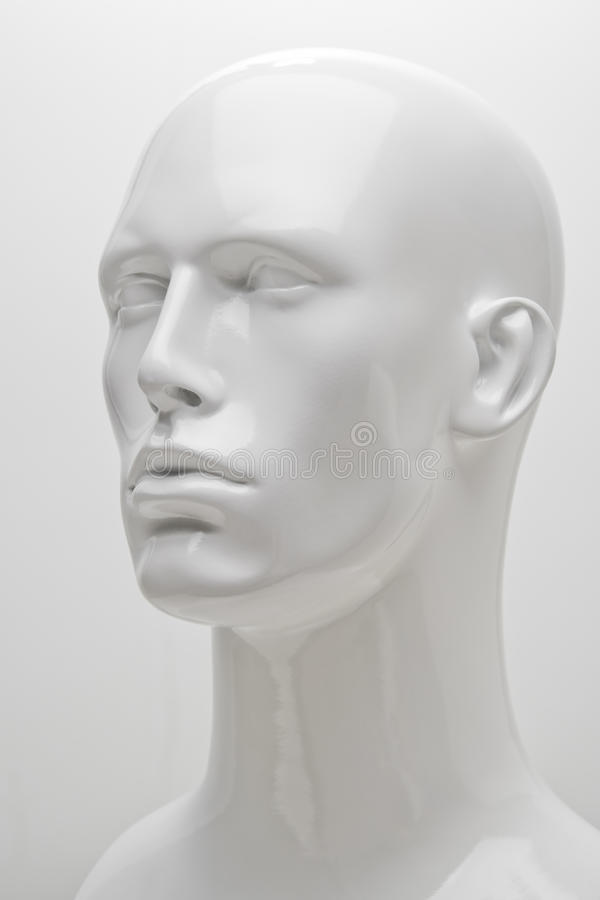 3/4 Mannequin Headshot royalty free stock photos