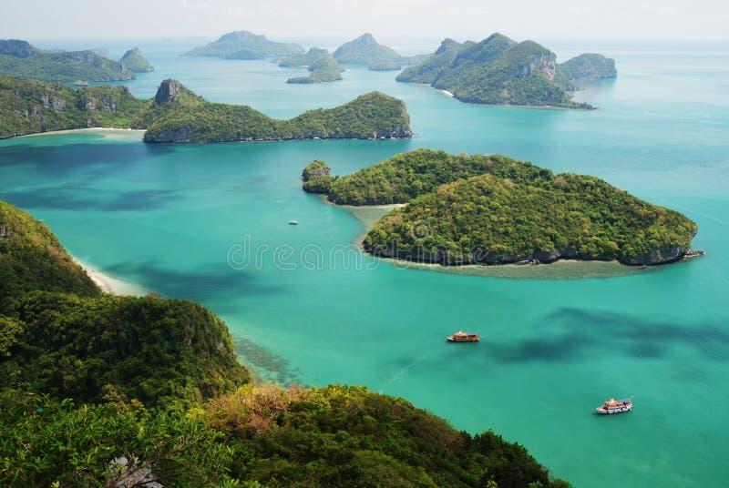 3 angthong海岛ko mu 免版税库存图片