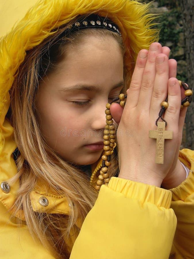 3 aniołów modlitwa zdjęcie royalty free