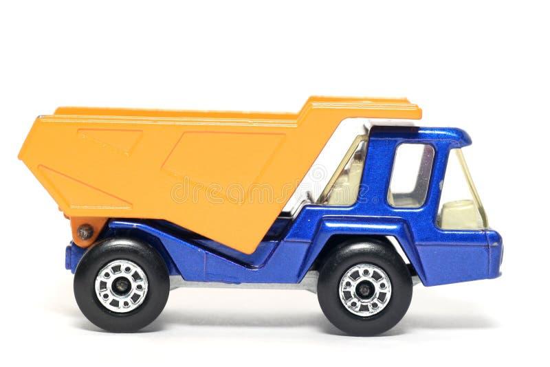 3 atlasy zabawek stara ciężarówka drogowa obraz royalty free