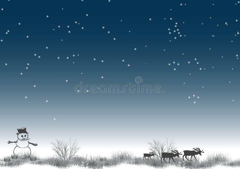 3 biegun północny royalty ilustracja