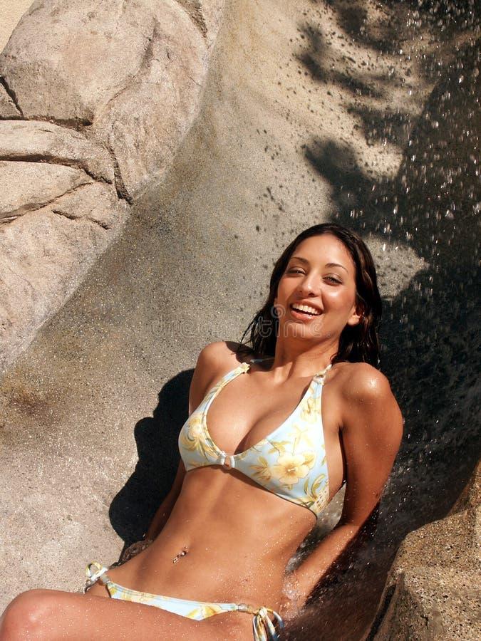 3 Bikini Raquel Στοκ εικόνα με δικαίωμα ελεύθερης χρήσης
