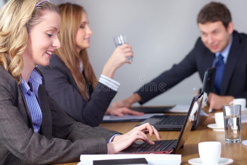 3 biznesu spotkania ludzie drużyny fotografia royalty free