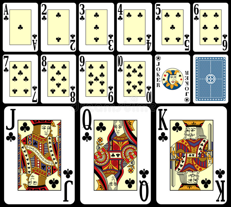 3 blackjack kart bawić się royalty ilustracja