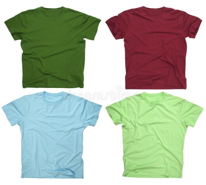 3 blanka skjortor t arkivfoto