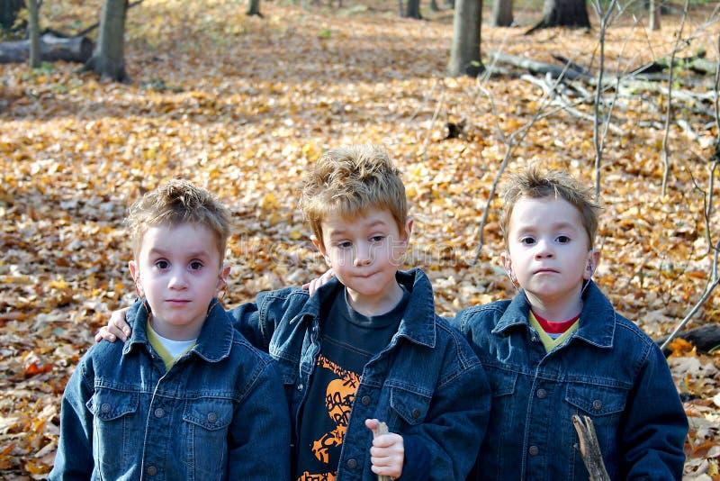 3 Brüder stockbild