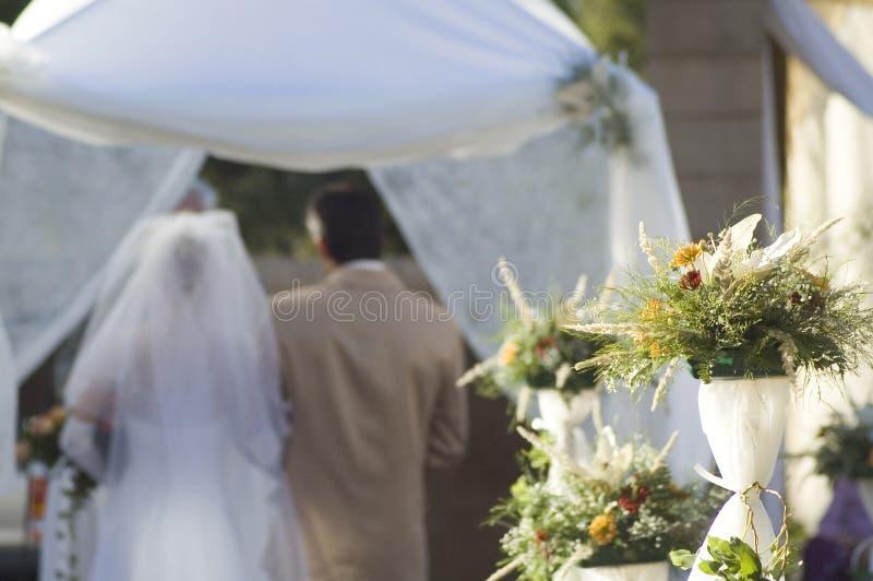 3 ceremonii ślubu obraz royalty free