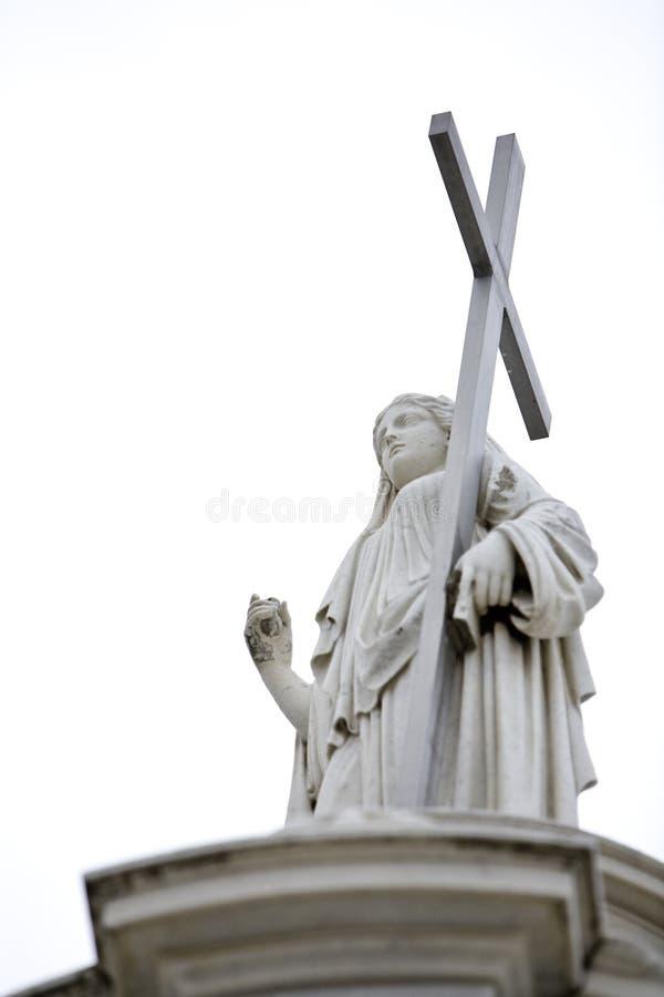 3 cmentarzy posąg obrazy stock