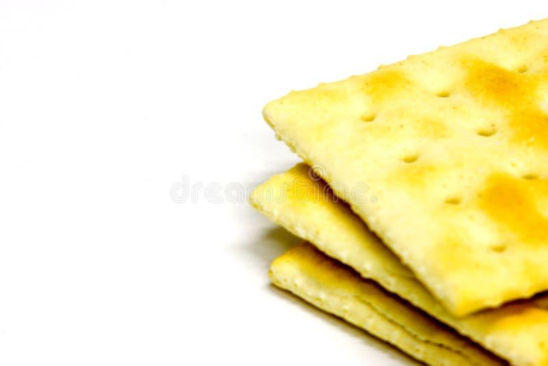 3 crackers royalty-vrije stock afbeeldingen