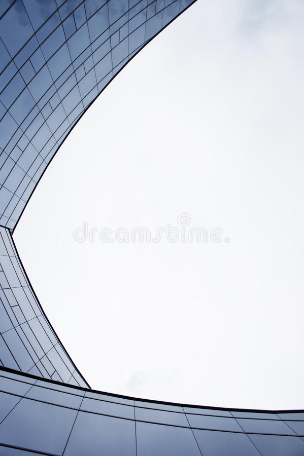 3 Curve Arc Wall Stock Image