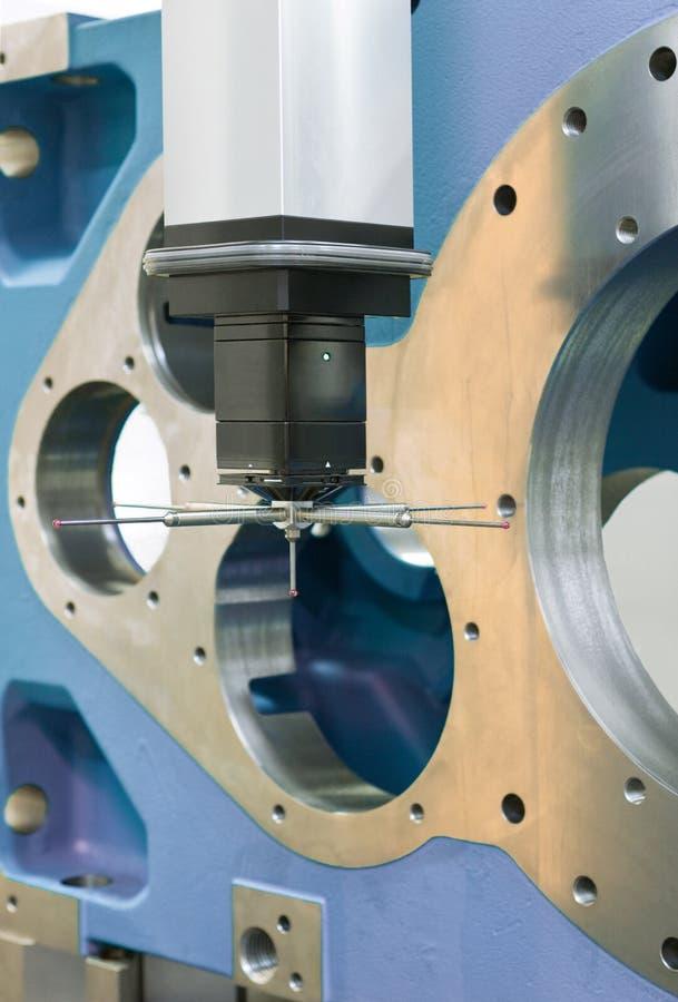 3-D-coordinate-measuring stockbilder