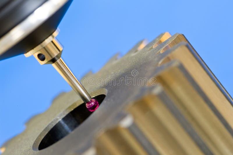 3-D-coordinate-measuring stockfoto