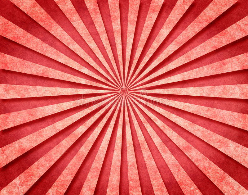 3 d czerwieni sunbeams royalty ilustracja
