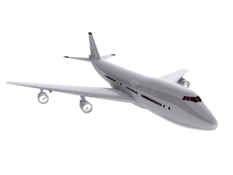 3 d samolot. royalty ilustracja