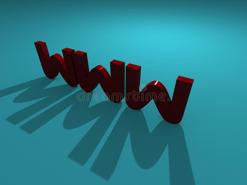 Download 3-D WWW stock illustration. Illustration of rendering - 11788018