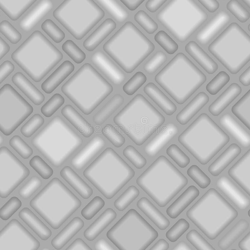 3 d wzoru bezszwowa płytka ilustracji