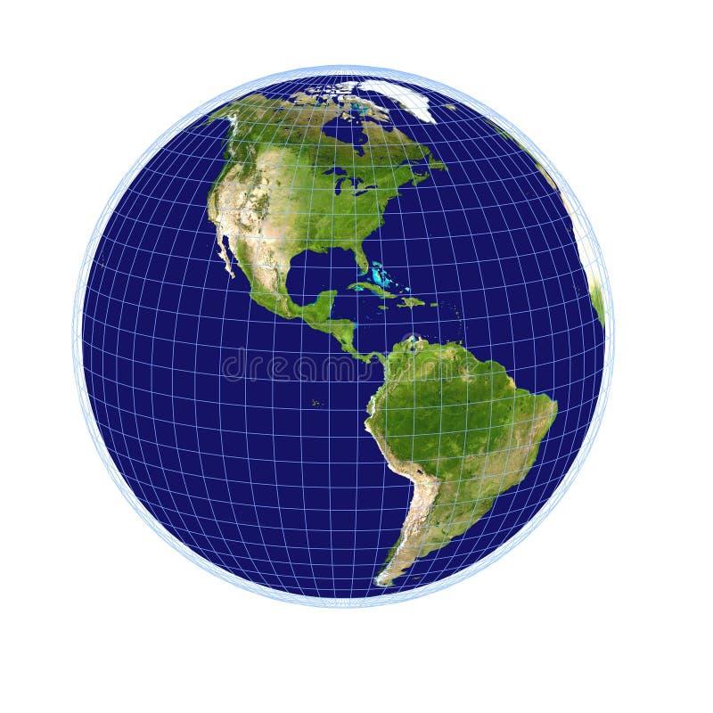 3 d ziemi ilustracji