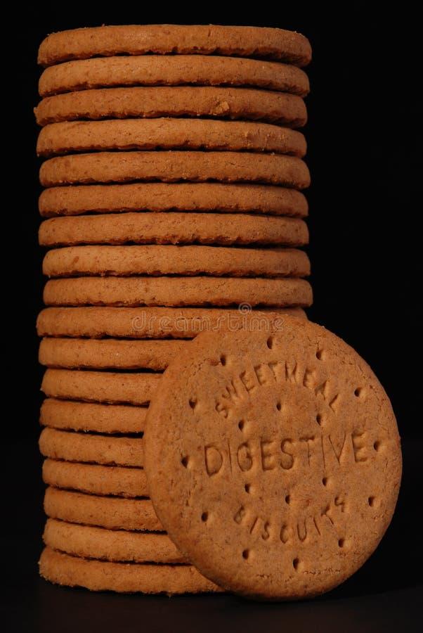 3 digestives zdjęcie royalty free
