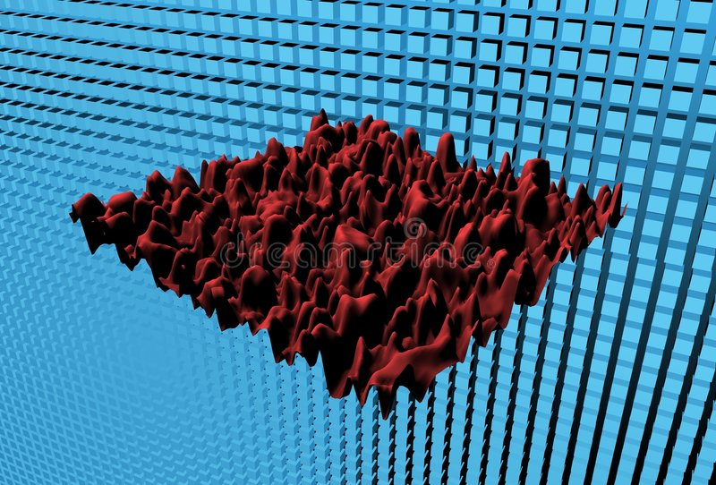 3 dimensional Graph stock images