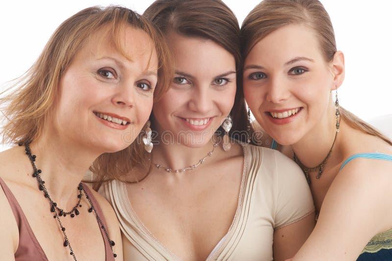 3 donne fotografia stock