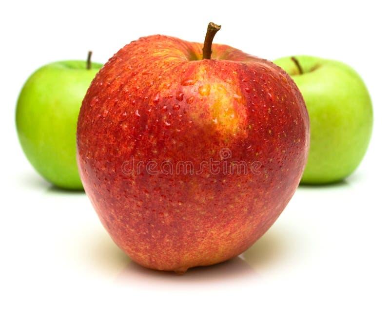 3 doskonale jabłkowy zdjęcie stock