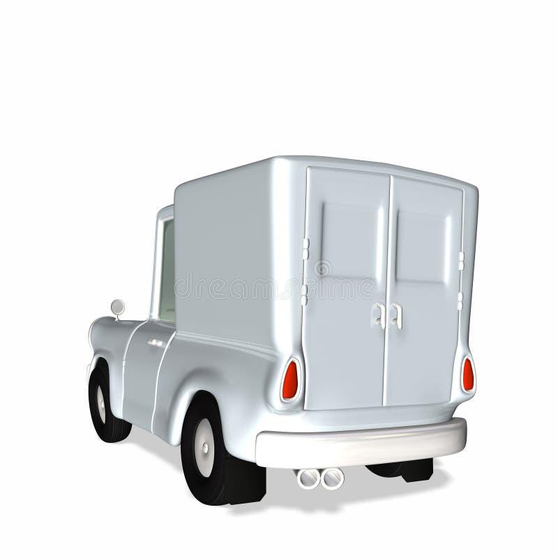 3 dostawy oskarżenia Animowany samochód ilustracja wektor