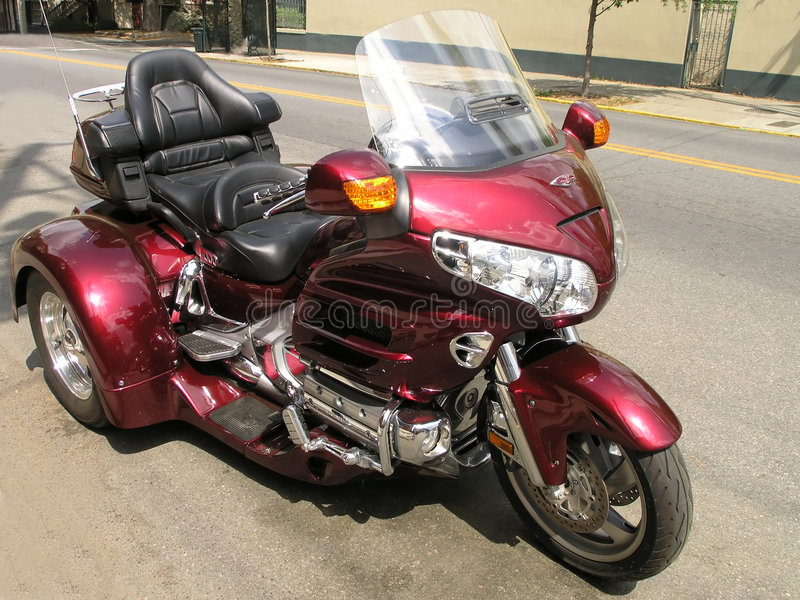 3 dwukołowych motocykli obrazy stock