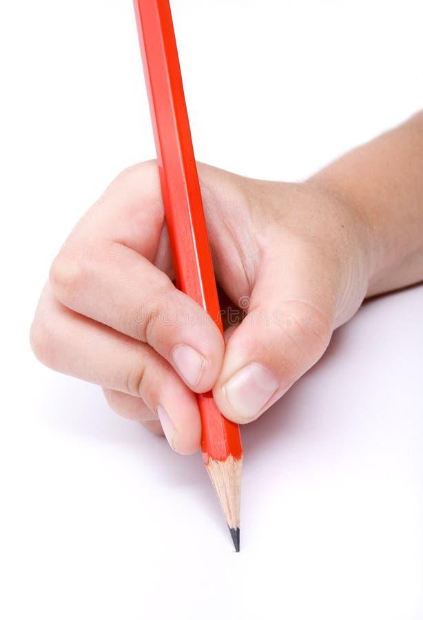 3 dzieci writing obrazy royalty free