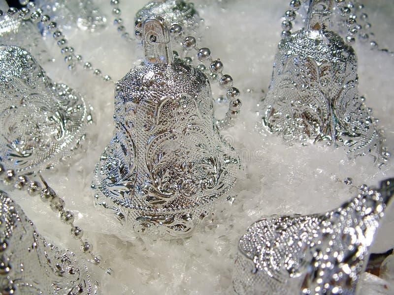 3 dzwonów srebra obrazy stock
