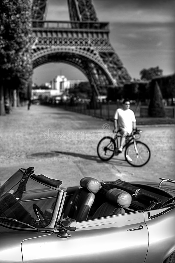3 Eiffel obraz royalty free